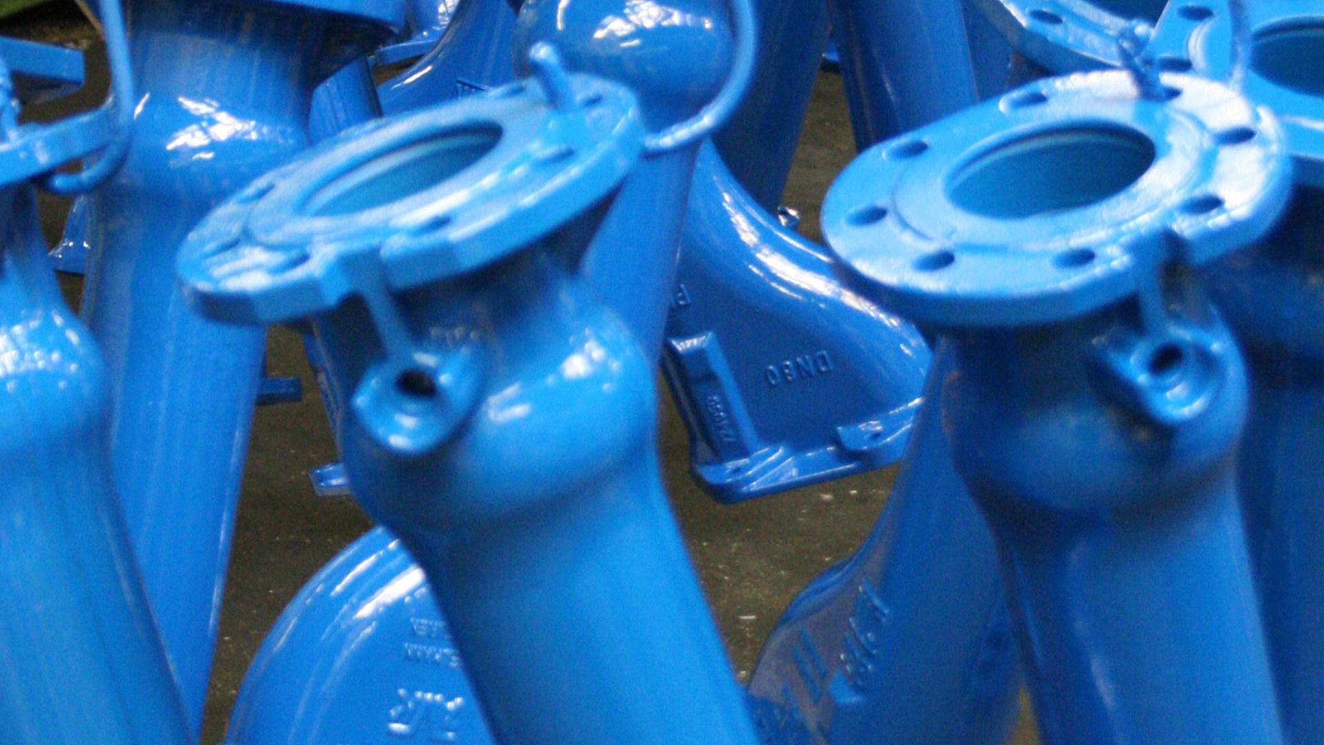 Beschichtung Unterflurhydranten