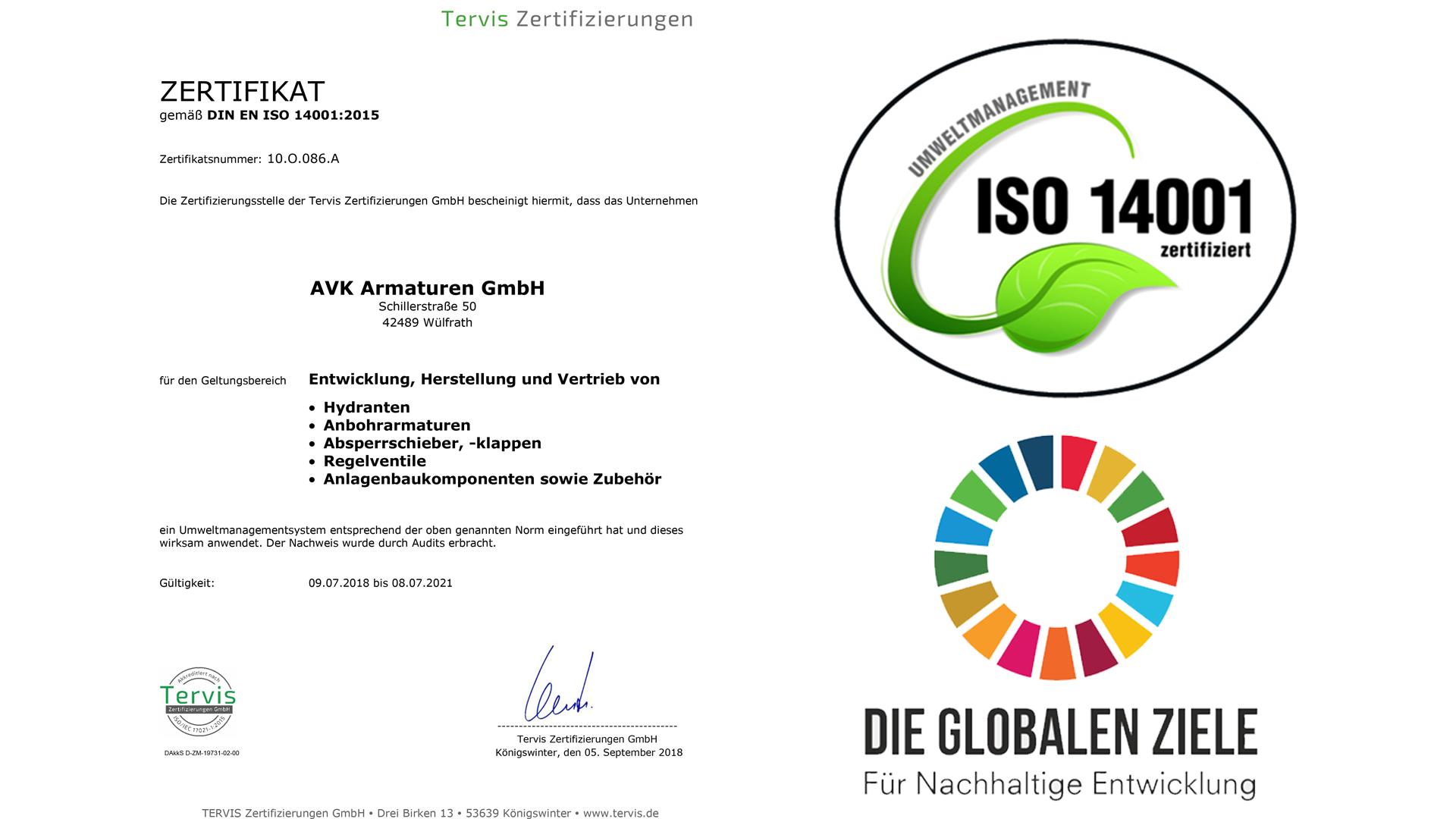 ISO14001 AVK